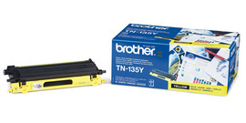 Brother TN135Y yellow laser toner printer cartridges
