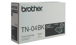 Brother TN04BK black laser toner printer cartridges