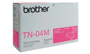 Brother TN04M magenta laser toner printer cartridges