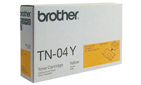 Brother TN04Y yellow laser toner printer cartridges