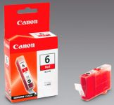 Canon BCI-6R red inkjet printer cartridges