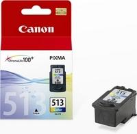 Canon CL-513 colour inkjet printer ink cartridges high capacity (13ml)