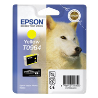 Epson T0964 yellow inkjet printer cartridges - FREE UK delivery!