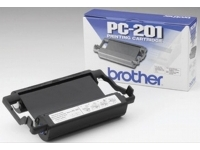Brother PC201 original fax thermal ribbon & inkjet cartridges