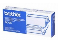 Brother PC75 black original OEM inkjet printer cartridges