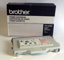 Brother TN01BK black laser toner printer cartridges