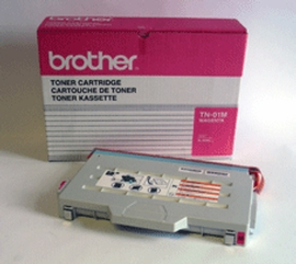 Brother TN01M magenta laser toner printer cartridges