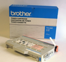 Brother TN03C cyan laser toner printer cartridges
