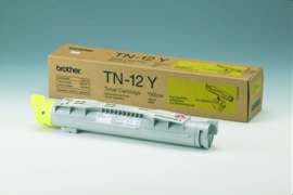 Brother TN12Y yellow laser toner printer cartridges
