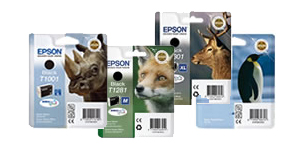 Epson Animal Ranges Of Ink Cartridges