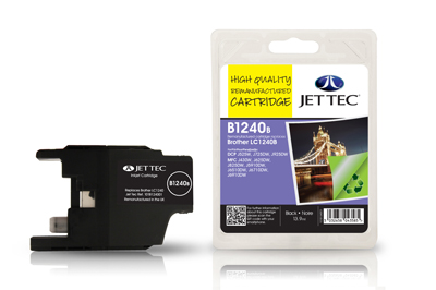 Jet Tec B1240B Remanufactured Brother LC1240 Black ink cartridges
