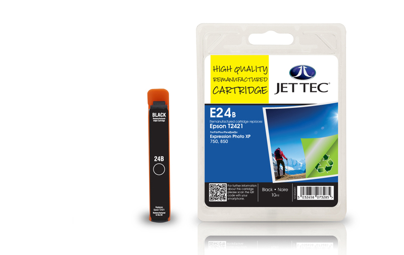 Jet Tec E24B remanufactured Epson T2421 ink cartridges